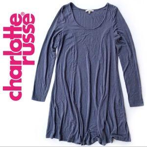 Charlotte Russe • Long Sleeve A Line Dress